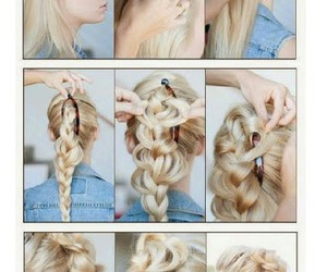 braid, hairstyle, and chic image