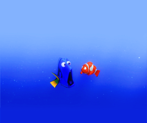 dory, disney, and nemo image