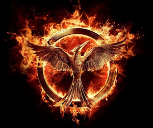 mockingjay, the hunger games, and hunger games image