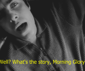 liam gallagher, oasis, and morning glory image