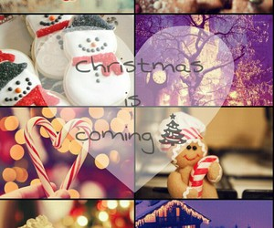 cup, snow, and lights image