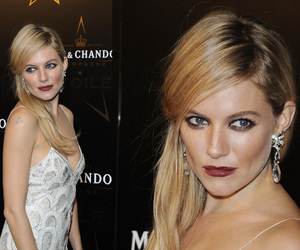 beauty, girl, and sienna miller image