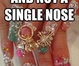 funny, lol, and nails image