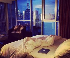 room, luxury, and bed image