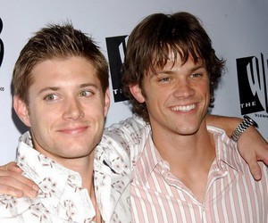 best friends, jensen ackels, and jared padalecky image