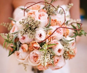 light pink, roses, and pastels image