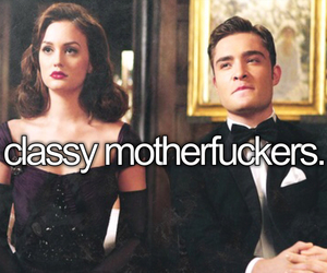 chuck and blair, classy, and gossip girl image