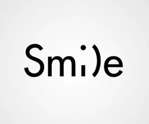 smile, :), and quotes image