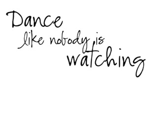 dance and nobody image