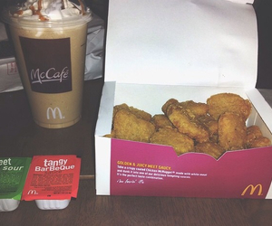 fast food, frappe, and McDonald's image