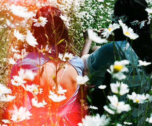 flowers, hippie, and nature image