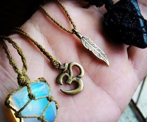 indie, hipster, and necklace image