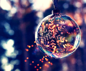 bauble, christmas, and holidays image