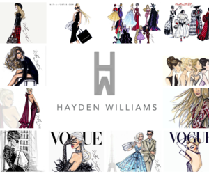 fashion illustrations and hayden williams image