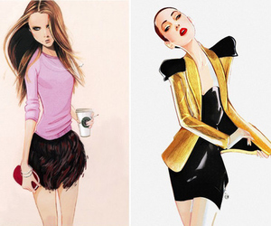 illustration, art, and drawing image