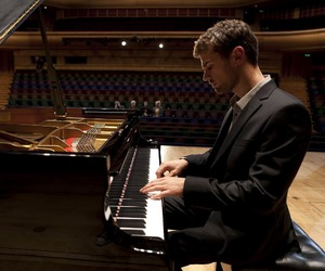 piano, theo james, and music image