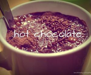 chocolate, hot chocolate, and Hot image