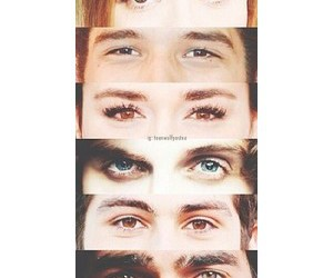 color, scott mccall, and eyes image