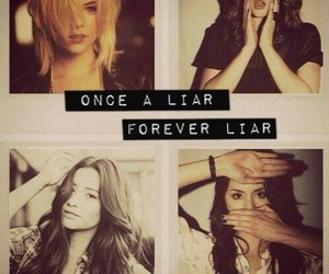 pretty little liars, emily, and hanna image