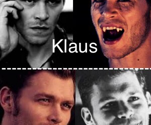 black and white, klaus mikaelson, and cute image