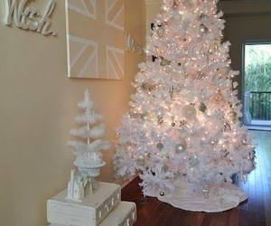 christmas, christmas tree, and beautiful image