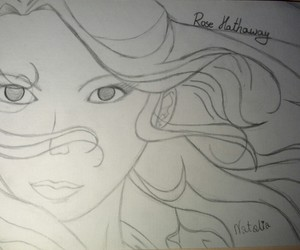 draw, vampire academy, and rose hathaway image