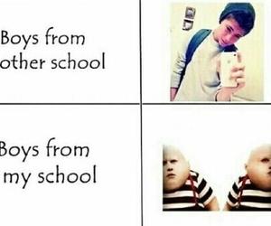 boy, school, and true image