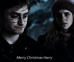 harry potter, christmas, and daniel radcliffe image
