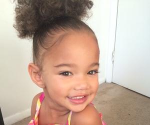 adorable, girl, and baby image