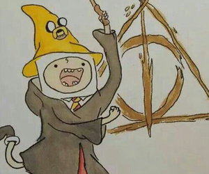 harry potter and adventure time image
