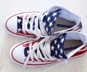 converse, shoes, and america image