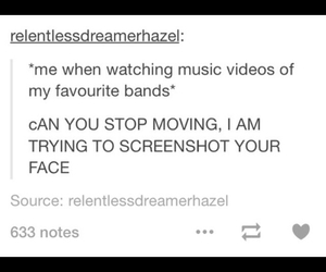 all time low, black veil brides, and tumblr text image