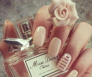 nails, dior, and perfume image