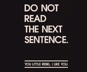 like, read, and sentence image