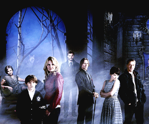 once upon a time, emma swan, and sheriff graham image