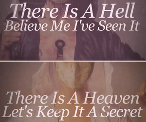 heaven, hell, and bmth image