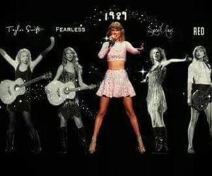 Taylor Swift, 1989, and fearless image