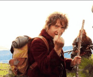 Martin Freeman and the hobbit image