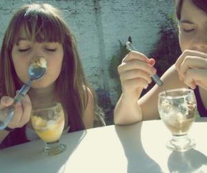 friendship, helado, and ice cream image