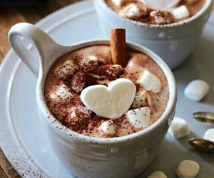 chocolate, winter, and coffee image