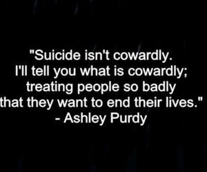 suicide and quote image