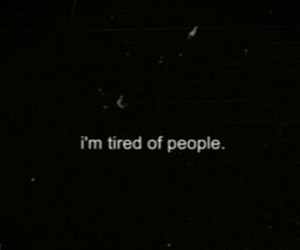 people and tired image