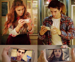 dylan o'brien, holland roden, and stydia image