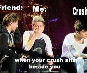 crush, friends, and one direction image