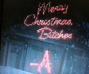 christmas, pretty little liars, and a image
