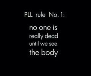pretty little liars, pll, and rule image
