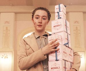 the grand budapest hotel, Saoirse Ronan, and Agatha image