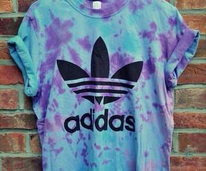 adidas, blue, and purple image