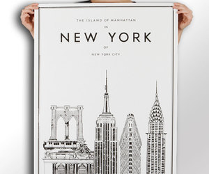 new york, manhattan, and ny image