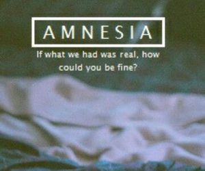 amnesia, 5sos, and grunge image